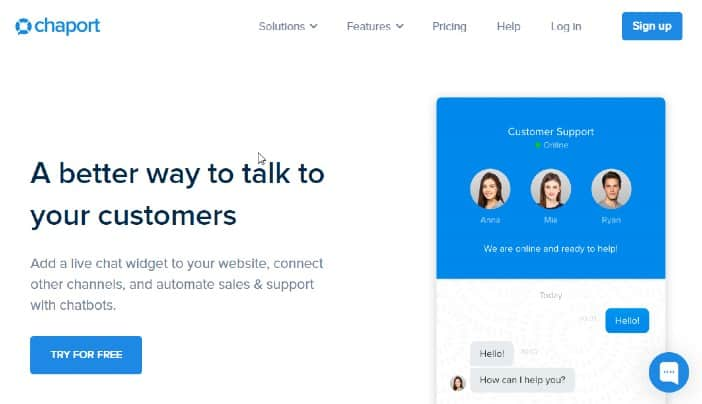 Chatport - Best Live Chat Software