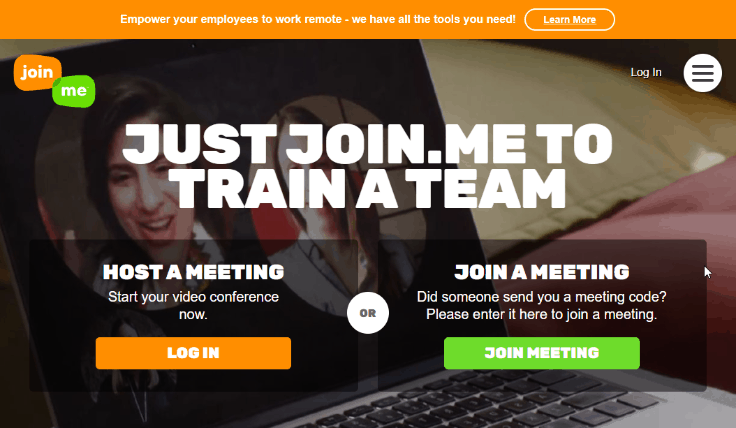 Join.me - Best Screen Sharing Software