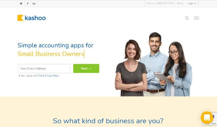 Kashoo - Best Accounting Software For Small Businesses