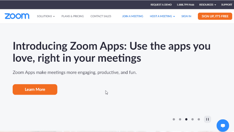Zoom - Best Screen Sharing Software