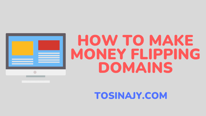 how to make money flipping domains - Tosinajy