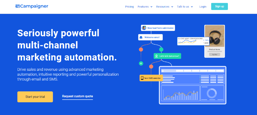 Campainer - Best Marketing Automation Software