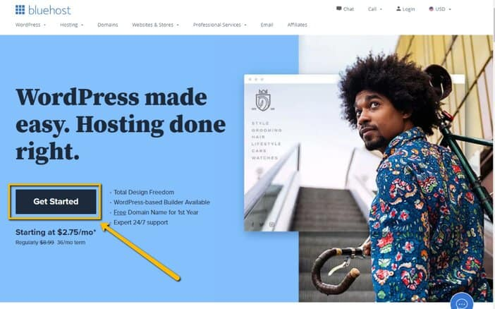 Getting Started with Bluehost Web Hosting Tosinajy