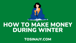 how to make money during winter - tosinajy