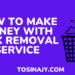 how to make money with junk removal service - Tosinajy